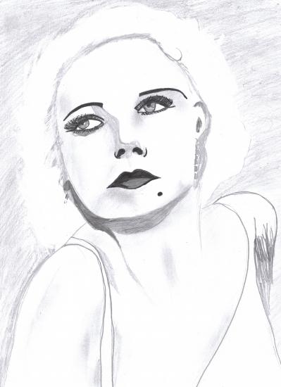 Jean Harlow par Leena